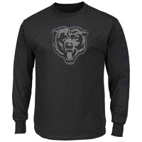 Majestic Chicago Bears Up and Over Tee