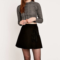 Light Before Dark A-Line Side Tie Skirt - Urban Outfitters