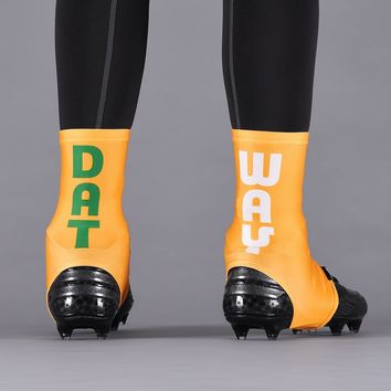 Datway Yellow Spats / Cleat Covers