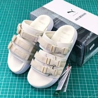 Puma Leadcat Ylm White Sandals - Best Online Sale