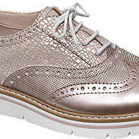 Dandy Lace Ups from Ellie Star Collection in rosegold - deichmann.com