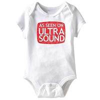 'As Seen On' Infant Snapsuit