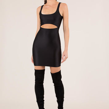 Too Hot To Handle Cut-Out Minidress