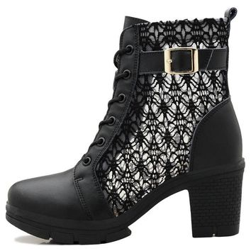 Women's Lacey Motorcycle Boots