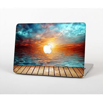 The Paradise Sunset Ocean Dock Skin for the Apple MacBook Air 13""