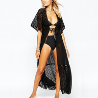 Sexy Lace Cover Up