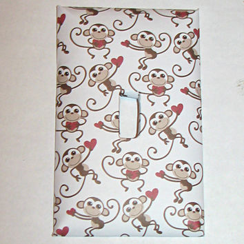 Light Switch Cover - Light Switch Plate Love Monkey