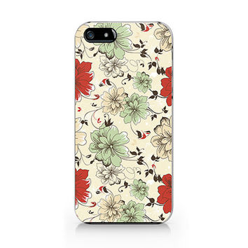 Q-007 floral Iphone4/4s, iphone5/5s/5c, ip6, samsung s3/s4/s5/note3 case
