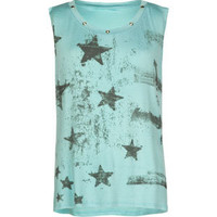FULL TILT Star Girls Muscle Tee