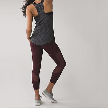 Lululemon Women Sport Yoga Leggings Pants Trousers
