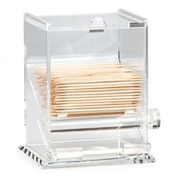 Tablecraft 228: Acrylic Plastic Toothpick Dispenser | Foodservice Superstore