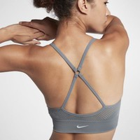 Nike Seamless Women's Light Support Sports Bra. Nike.com