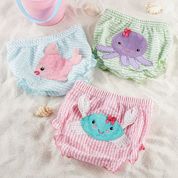 "Baby Aspen ""Beach Bums"" Set of 3 Bloomers"