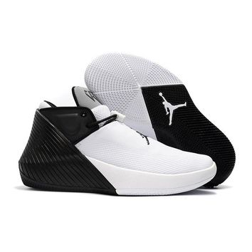 "Air Jordan Why Not Zer0.1 ""Black White Gray"" - Best Deal Online"