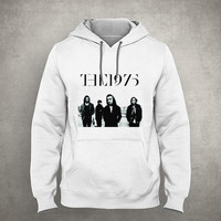 The 1975 - Matt Healy - Gray/White Unisex Hoodie - HOODIE-070