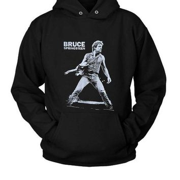 Bruce Springsteen Hoodie Two Sided