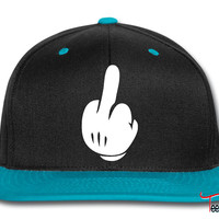 Middle Finger Snapback