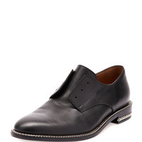 Chain-Wrapped Derby Oxford, Black