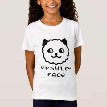 Smiley Face Kat T-Shirt