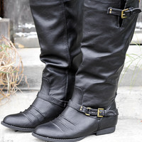Forever Mine Boots: Midnight Black | Hope's