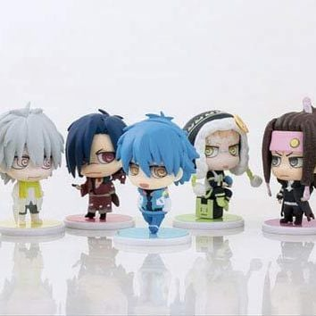DRAMAtical Murder Trading Chimi Figure Collection