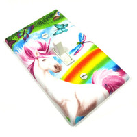 Rainbow Unicorn Light Switch Cover Switchplate Switch Plate Unicorn Decor Unicorn Decoration 1599