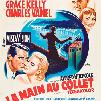To Catch a Thief (French) 11x17 Movie Poster (1955)