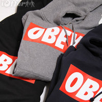 Obey sweatshirt jumper pullover hoody by Meronepal on Etsy