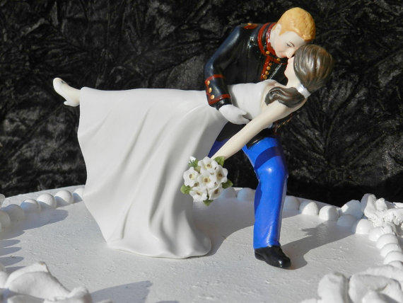 army man wedding cake topper usmc marine corps groom from spartacarla on 10823