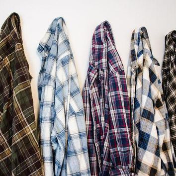 '-Mystery Oversized Flannel Shirts