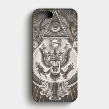 Death Illuminati iPhone SE Case