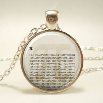 Necklace, Mathematical Jewelry, Math Teacher Gift