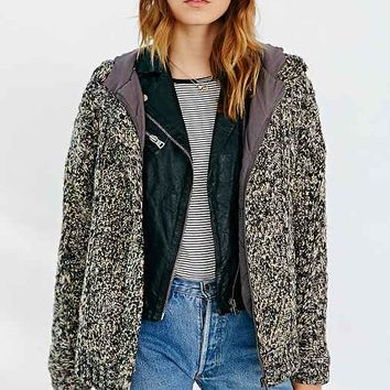 BDG Hooded Sweater Coat-