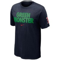 Nike Boston Red Sox Green Monster T-Shirt - Navy Blue