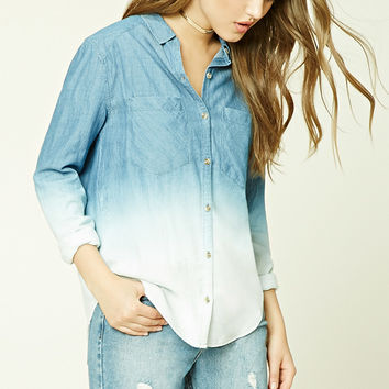 Ombre Denim Shirt