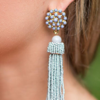 Daring Details Earrings, Gray