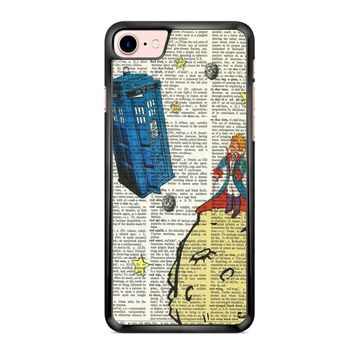 The Little Prince With Tardis iPhone 7 Case