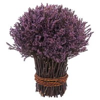 "Smith & Hawken® Purple Dried Bundle Arrangement (10"")"