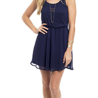 Mojave Moon Strappy Woven Tank Dress