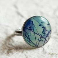Spring branches Ring  Free Worldwide shipping  Made by beautyspot