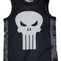 Marvel Comics Punisher Castle Graphic Tank Top