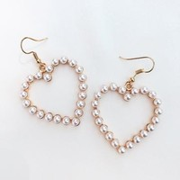Pearl Amour Earrings