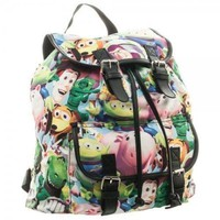 Disney Toy Story Sublimated Slouch Knapsack Backpack NEW! Buzz, Woody