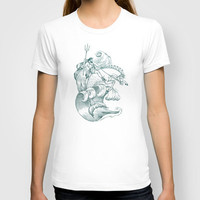 Poseidon T-shirt by Laurie A. Conley | Society6