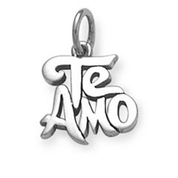 """Te Amo"" Charm 