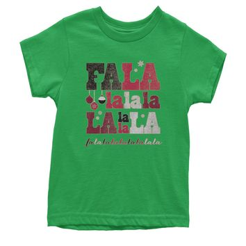 Fa La La Holiday Shirt Youth T-shirt
