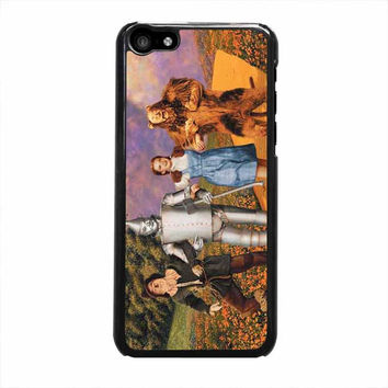 wizard of oz dororthy and gang iphone 5c 5 5s 4 4s 6 6s plus cases