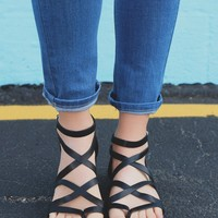 Sea Swept Sandal - Black