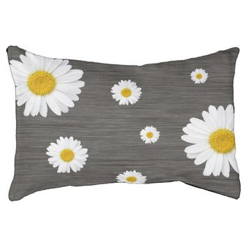 Rustic Daisy Small Dog Bed