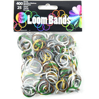 Loom Bands Assortment 425/Pkg-Camo Tie-Dye
